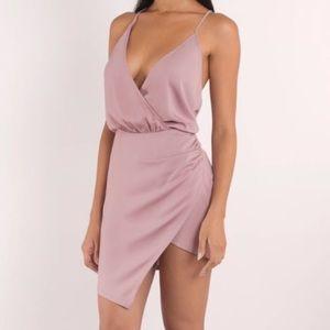 """Tobi """"Jamie"""" Rose Wrap Dress"""